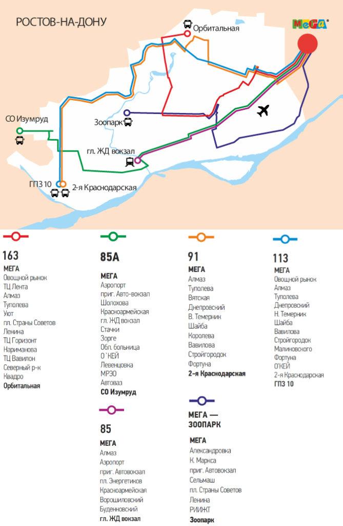 Как добраться до ИКЕА Ростов на общественном транспорте