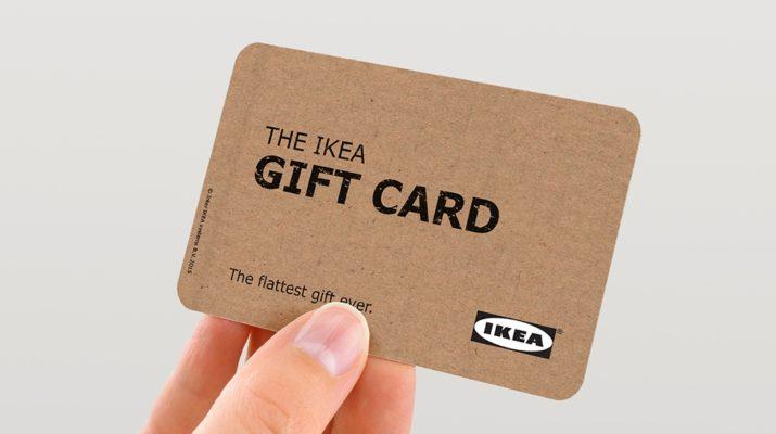 Подарочная карта (сертификат) ИКЕА