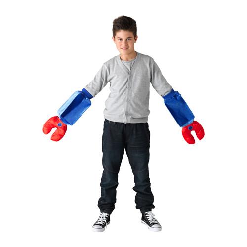 Шлем и руки робота Латто
