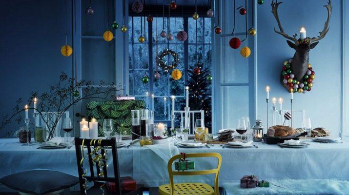 Новогодние украшения IKEA