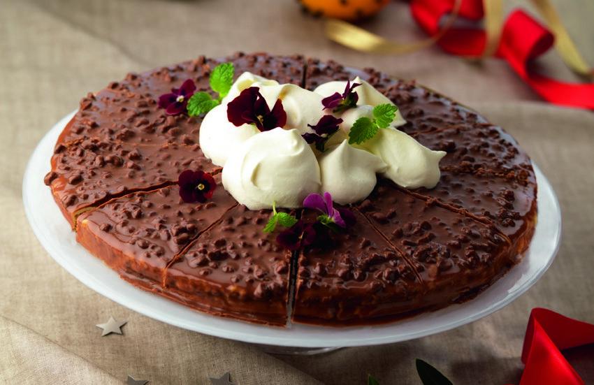 Миндальный торт Дайм из ИКЕА