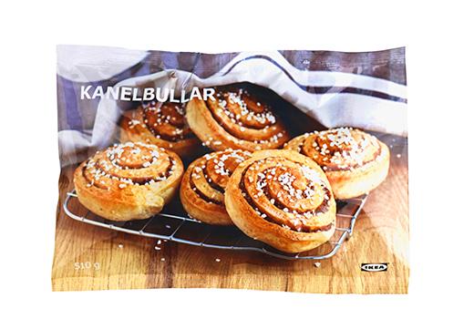 Замороженные булочки с корицей KANELBULLAR, IKEA