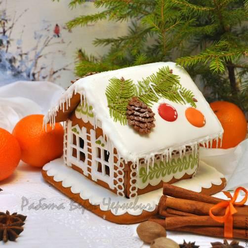 Пряничный домик в подарок
