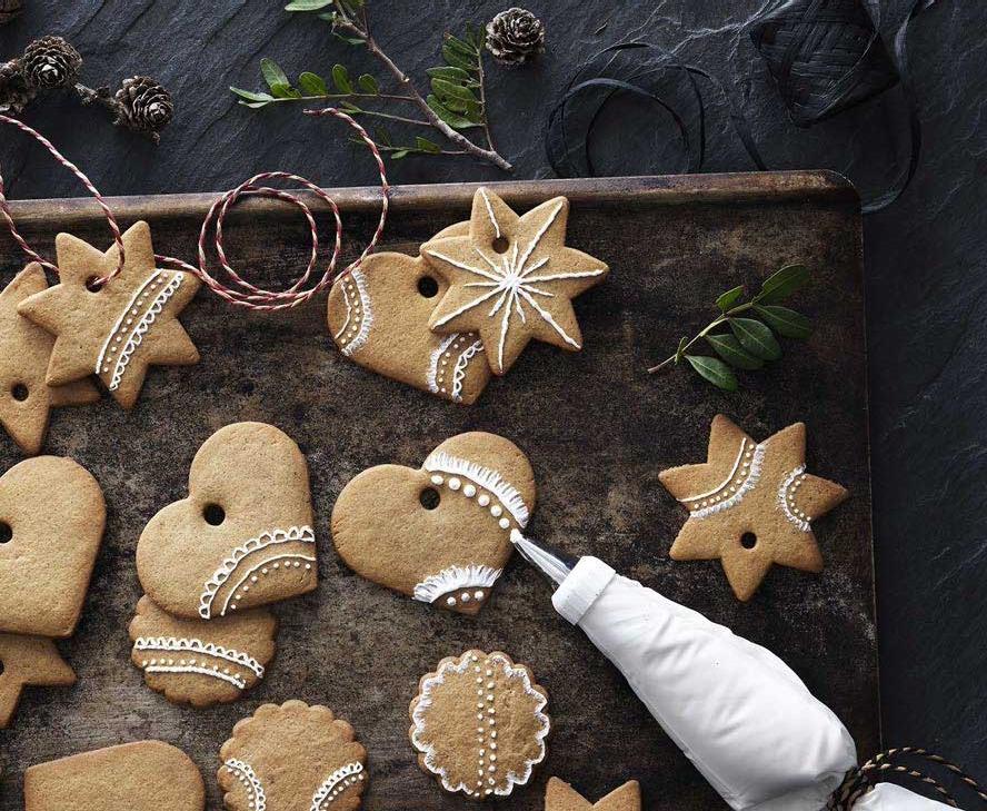 Как украсить имбирные печенья