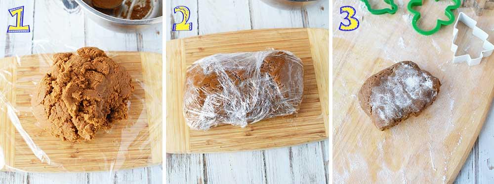 Тесто для имбирного печенья как в ИКЕА