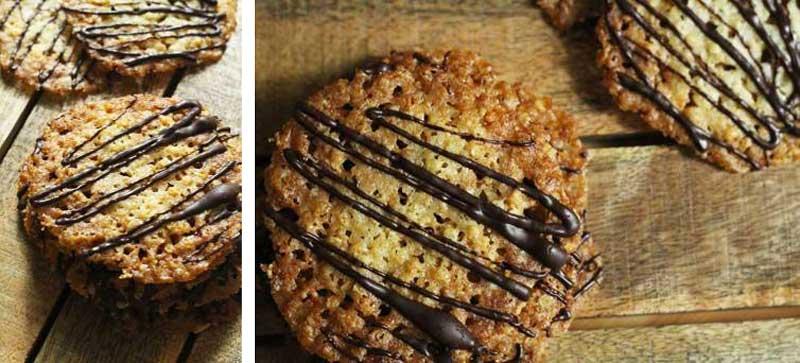 Овсяное печенье как из ИКЕА с шоколадом
