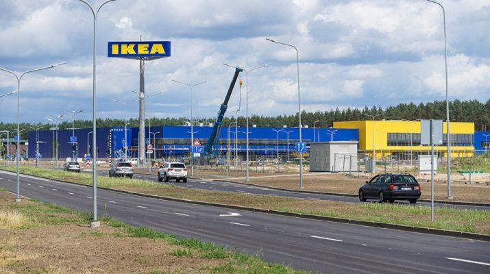 ИКЕА Латвия: первый магазин сети открылся в Риге 30 августа