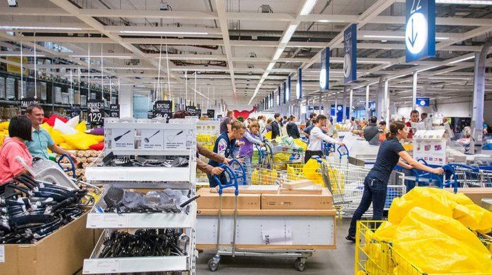 По итогам 2018 года IKEA повысила объем продаж на российском рынке на 2%