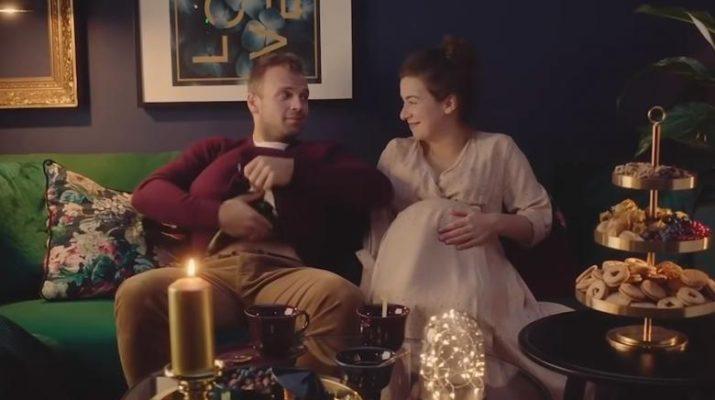 Новогодняя реклама ИКЕА с беременной 2019