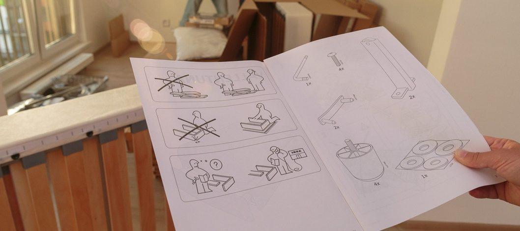 Как самостоятельно собрать мебель из ИКЕА