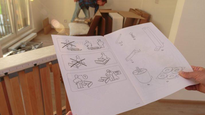 Как собрать мебель ИКЕА самостоятельно
